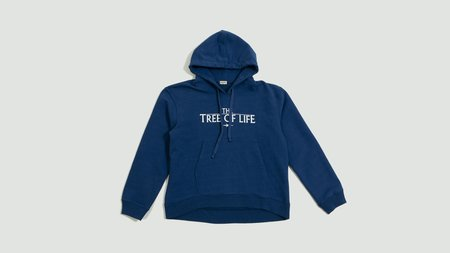 Phipps Tree Of Life Hoodie - Blue