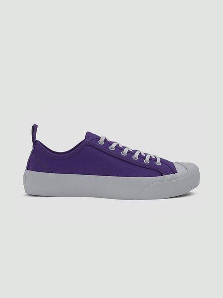 YMC Wing Tip Trainers - Purple