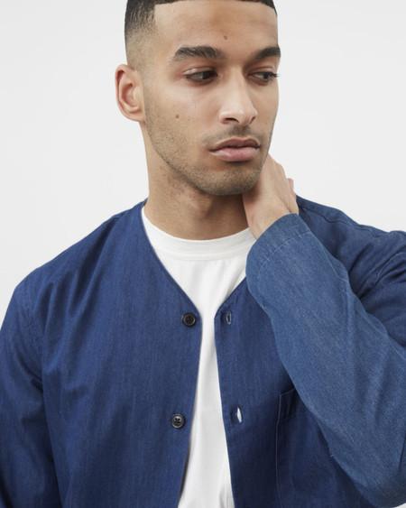 Minimum Kamper Shirt - Dark Indigo Blue