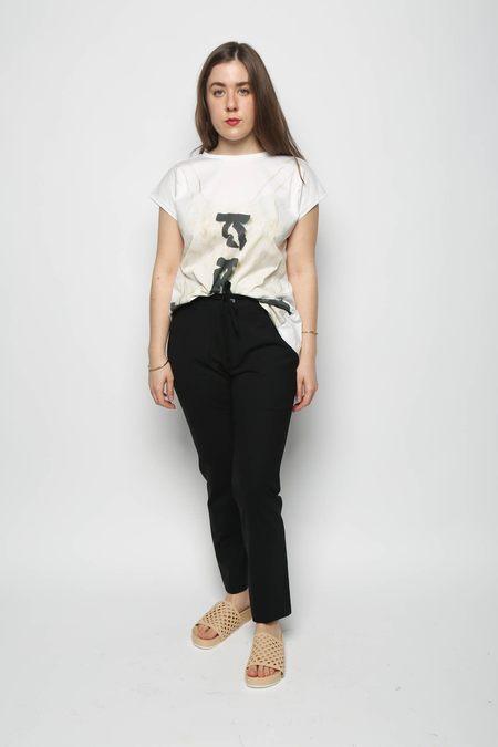 Leur Logette Lace Camisole Graphic Top - Off White