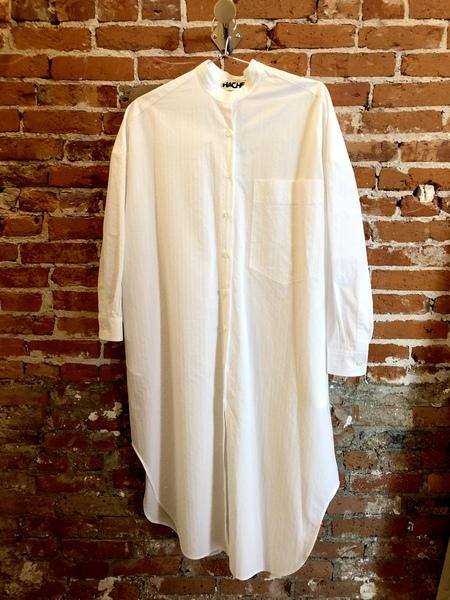 Hache Shirt dress - white