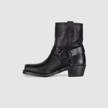 Frye Harness 8R Antique Boots - Black