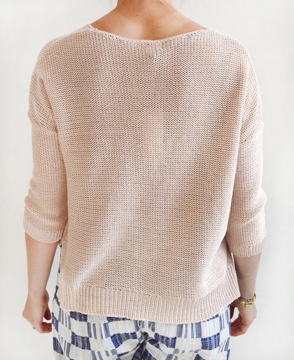 Demylee Gemma Body V-Neck Sweater