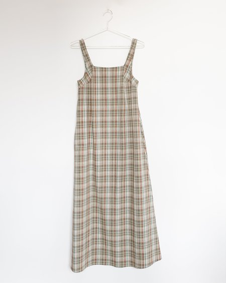 Town Clothes La Playa Dress - Prairie Plaid