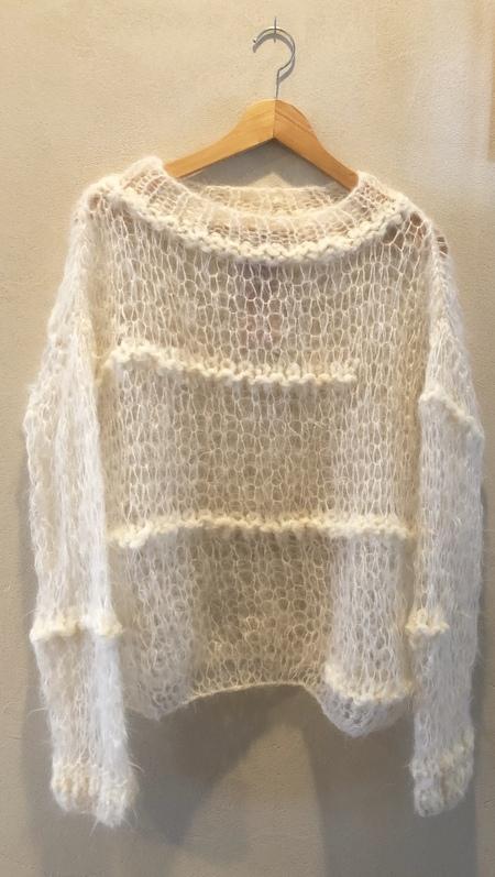 Gudran & Gudran Bianca knit sweater - cream