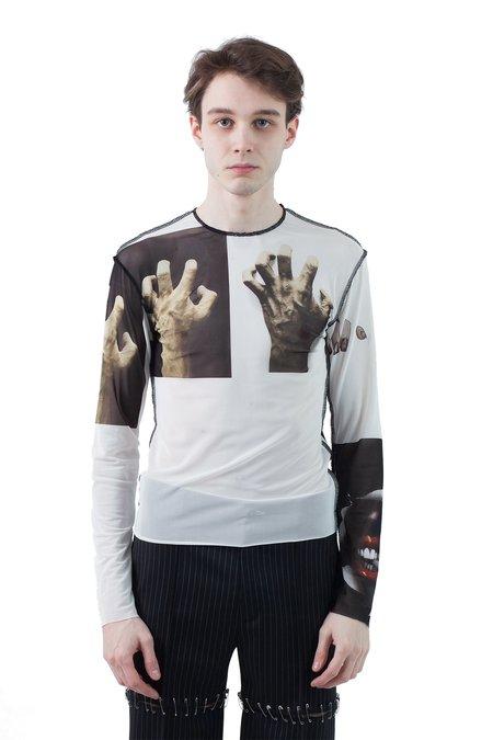 Magliano Monster Mesh Top - Hands