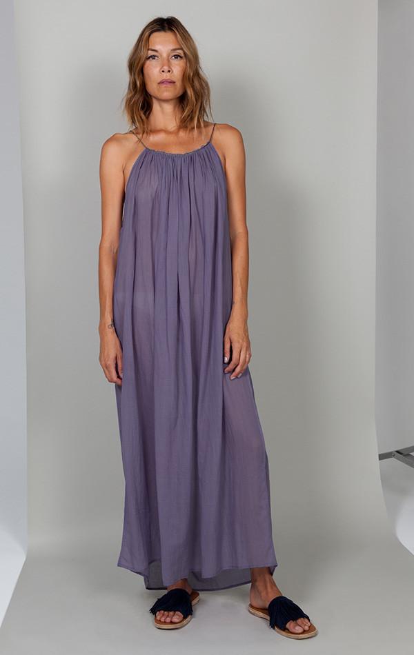 Two NYC Purple with metallic cord dress