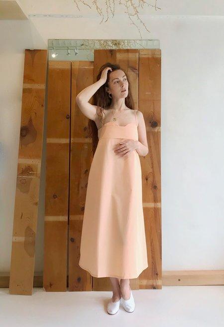 Toit Volant Verona Dress - Peach