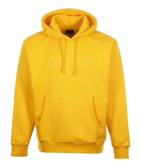 Obey Jodie Hood Sweat - Yellow
