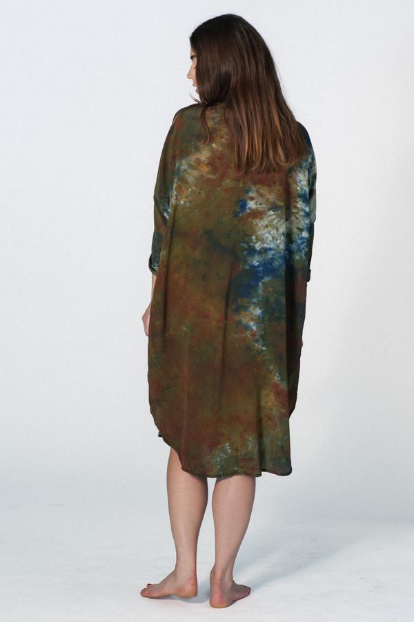 UPSTATE MARIA DRESS - CAMO