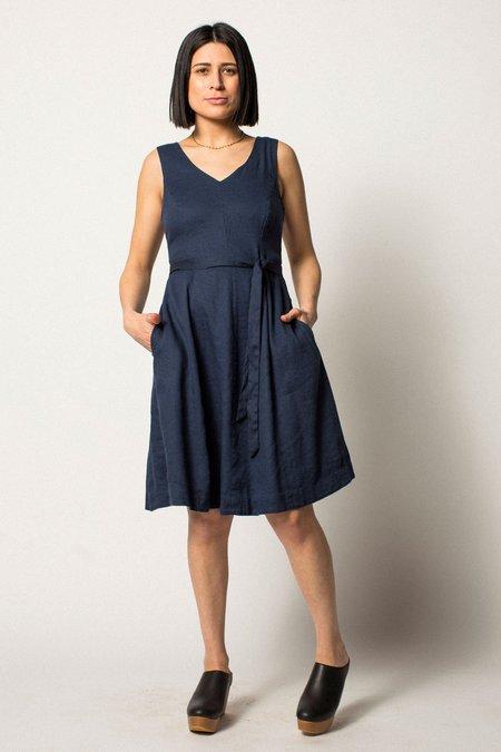 VINTAGE Preservation Dress - NAVY