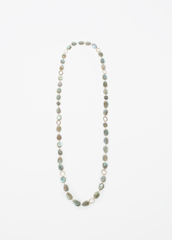 Jewels by Piper Diamond Bead Necklace