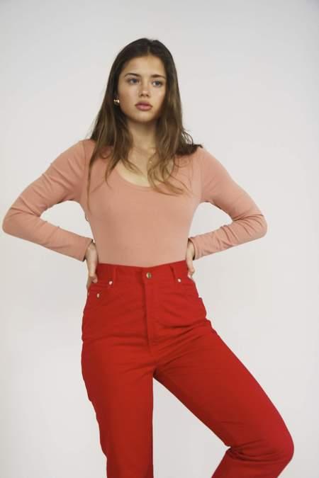 e09a2a641493 Yuka Paris Célestine Bodysuit - Blush Yuka Paris Célestine Bodysuit - Blush