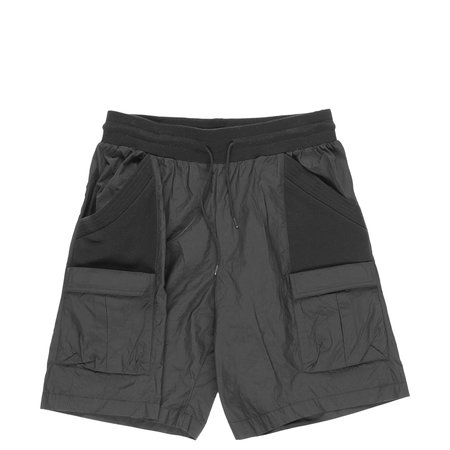 John Elliott Nylon Paneled Shorts - BLACK