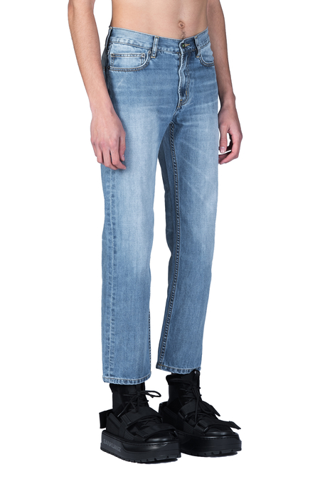 Sankuanz Stone Washed Jeans - Blue