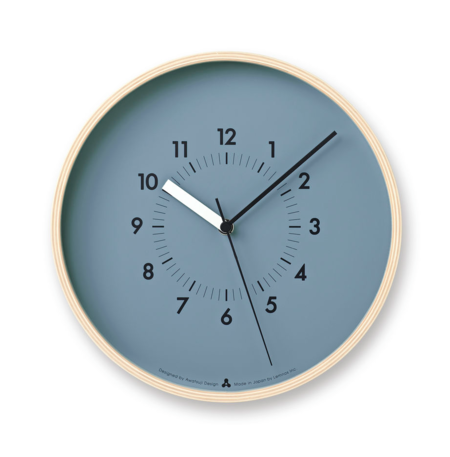 Lemnos Soso Wall Clock - Blue