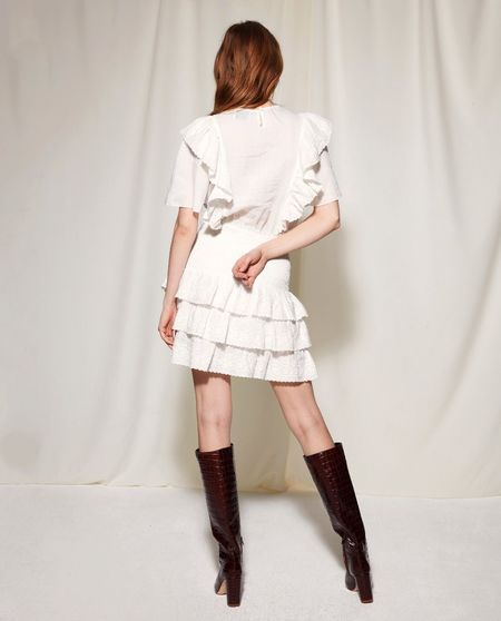 Les Coyotes De Paris Nara Dress - Off White