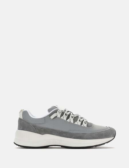 A.P.C Techno Homme Argent Trainers - Grey