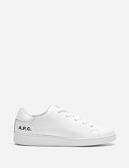 A.P.C. Minimal Shoes - White