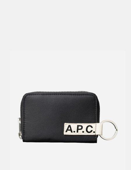A.P.C. Portefeuille Godot Wallet - Black