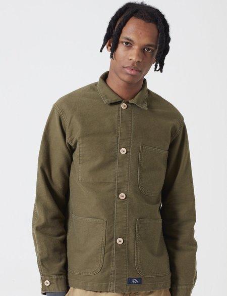 Bleu De Paname Veste De Comptoir Jacket - Khaki Military Green