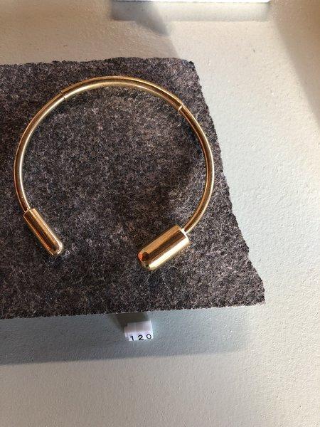 Formina Open Cuff - Brass