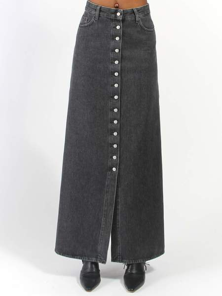 MM6 by Maison Margiela Long Skirt - black
