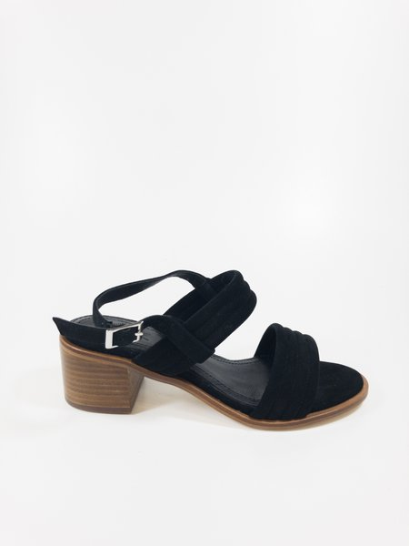 a over a shoes dafne sandal - black
