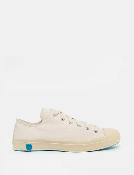 Shoes Like Pottery 01JP Low Canvas Trainers - Off White