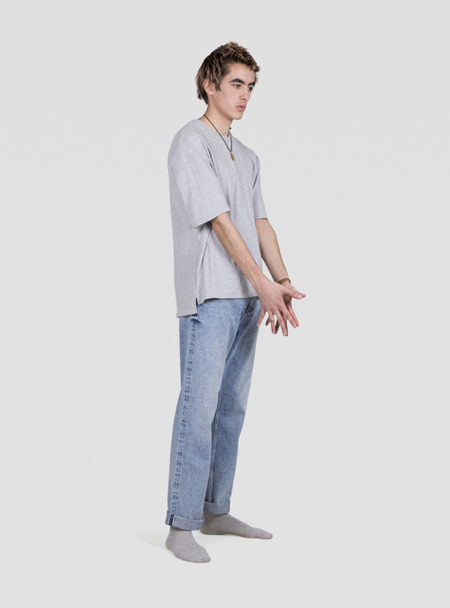 I AND ME Selvedge Slim Leg Jeans - Bleach