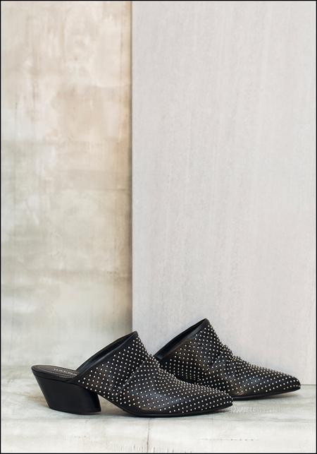 Halmanera Studded Leather Mule