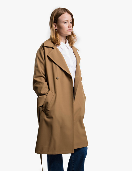 A.P.C. Manteau Bakerstreet - Brown