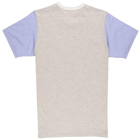 Aloye Color Blocks T-Shirt - White/Yellow