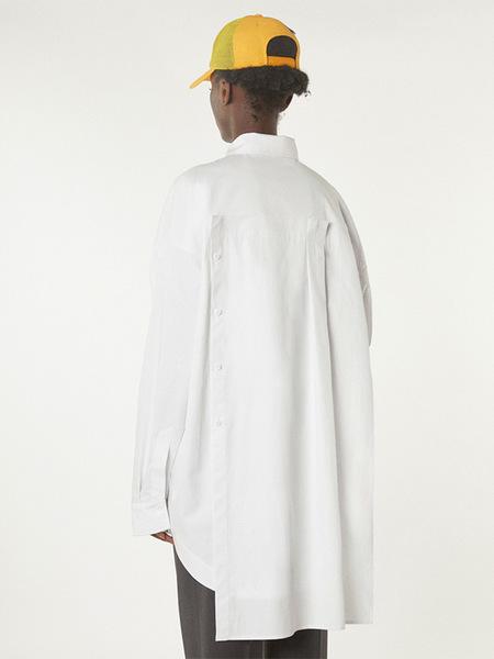 Ader Error Manteau Shirt - White