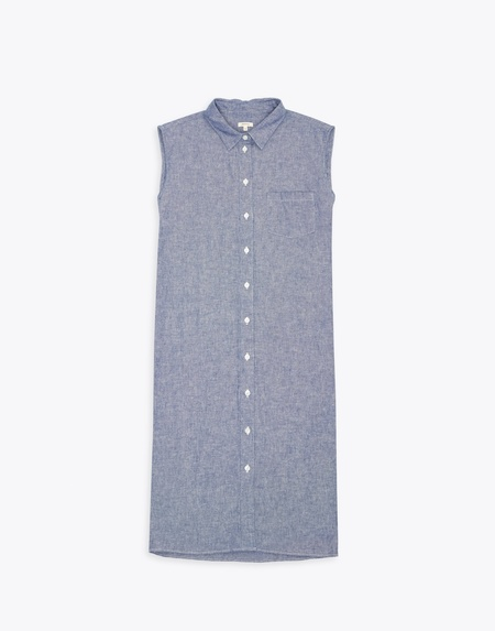 Bellerose Grunge Dress - blue