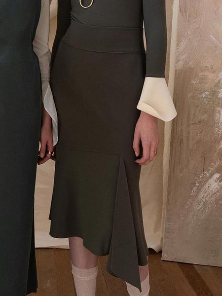 J.CHUNG Torino Skirt - Khaki