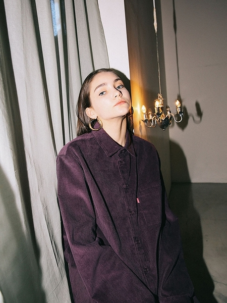 HAVE LESS Corduroy Shirt - Purple