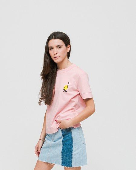 Loreak Lemon T-Shirt - Pink