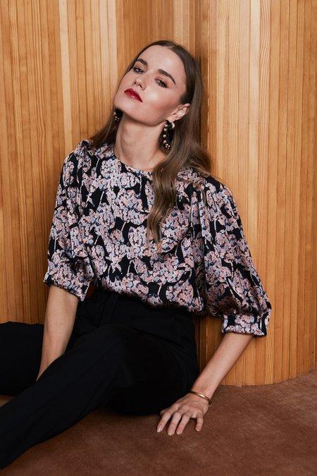 Caballero Ana Top - Floral Burnout