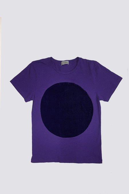 UNISEX Correll Correll Velvet Circle T-shirt - Violet