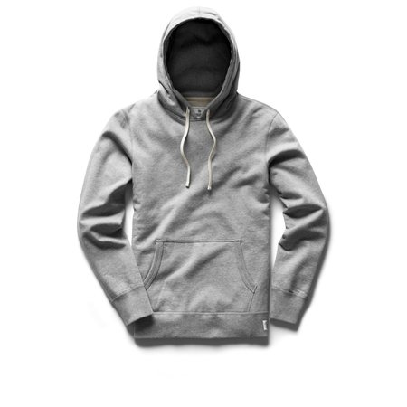 Reigning Champ RC Midweight Fr. Terry Pullover Hoody - Heather Grey