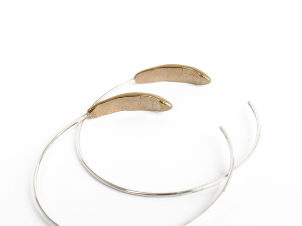 Seaworthy Fauna Hoops Earrings