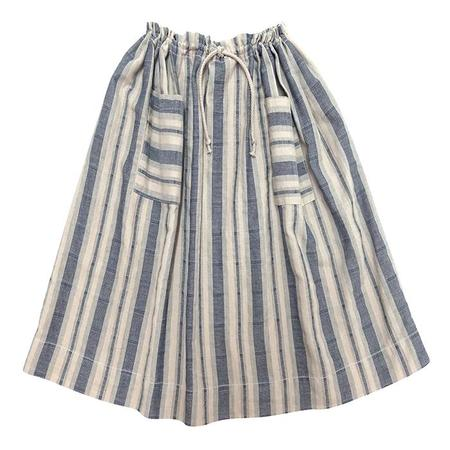 KIDS Nico Nico Petra Striped Skirt - Natural Off-White