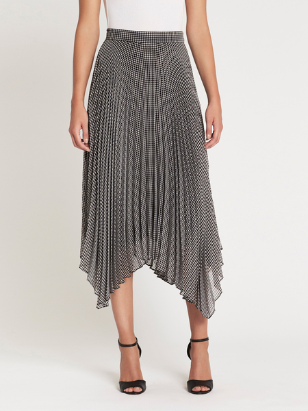 Camilla and Marc Miri Skirt - Gingham Check