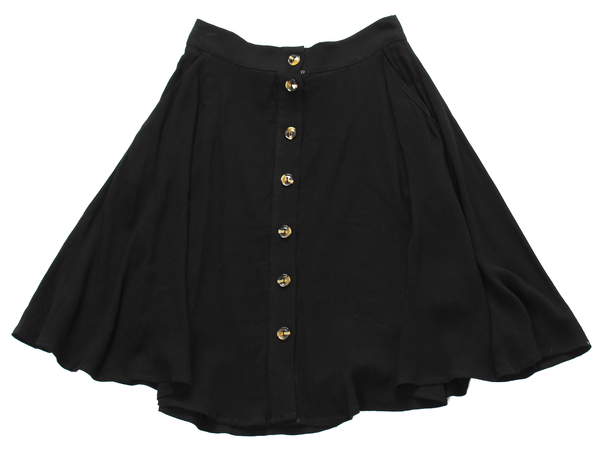 Jackson Button Skirt
