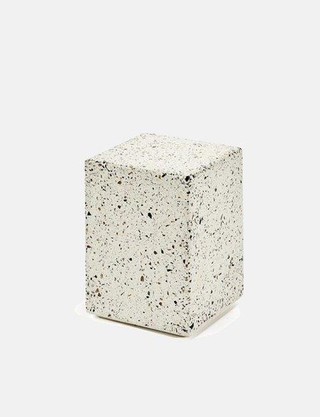Serax Terrazzo Rectangle Side Table - Grey