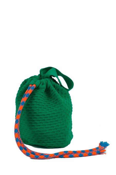 Angus Chiang Successful Bucket Bag - Green