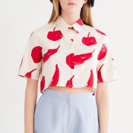 Samuji Faelyn Shirt - Red Fruit