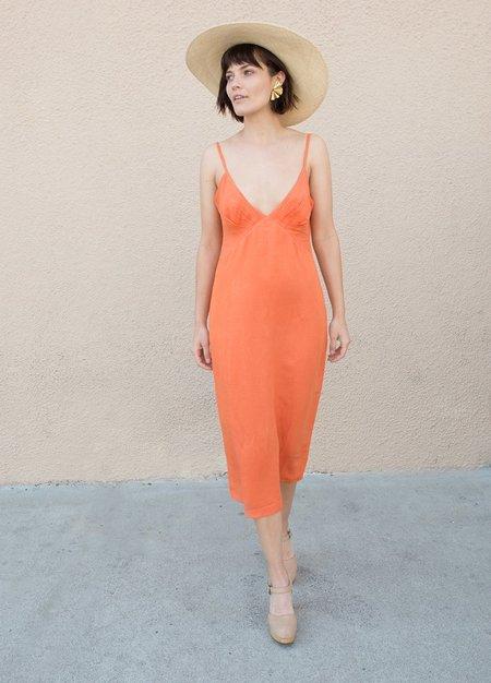 Ali Golden Gather Top Dress - Coral