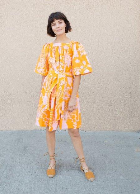 Whit Mira Dress - Orange/Pink